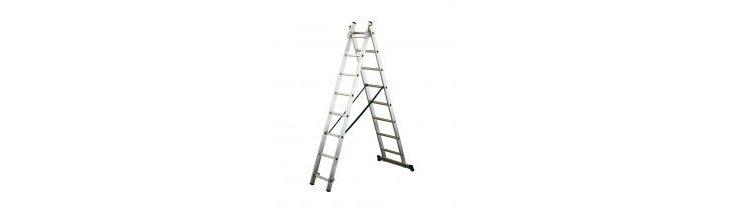 Veilig werken met aluminium ladders